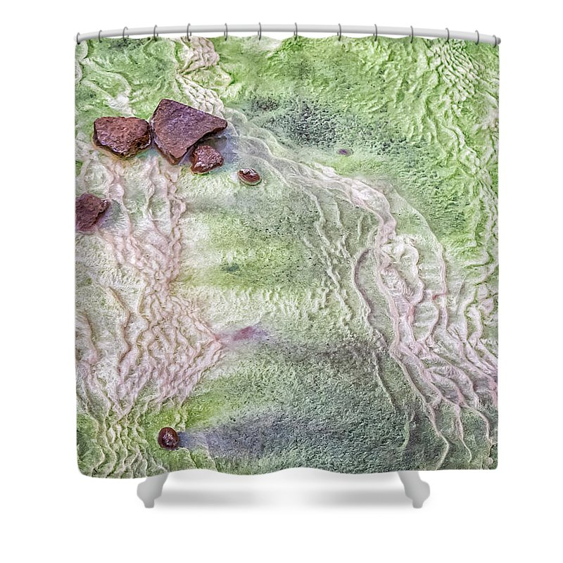 Iceland Shower Curtain featuring the photograph Earth Art 9493 by Karen Celella