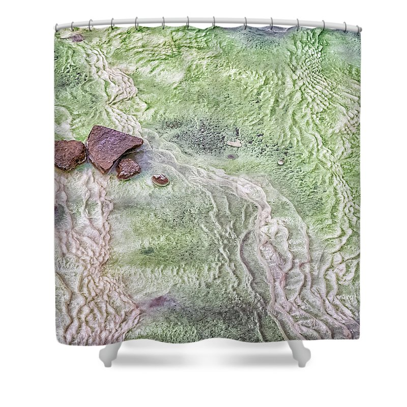 Iceland Shower Curtain featuring the photograph Earth Art 9496 by Karen Celella