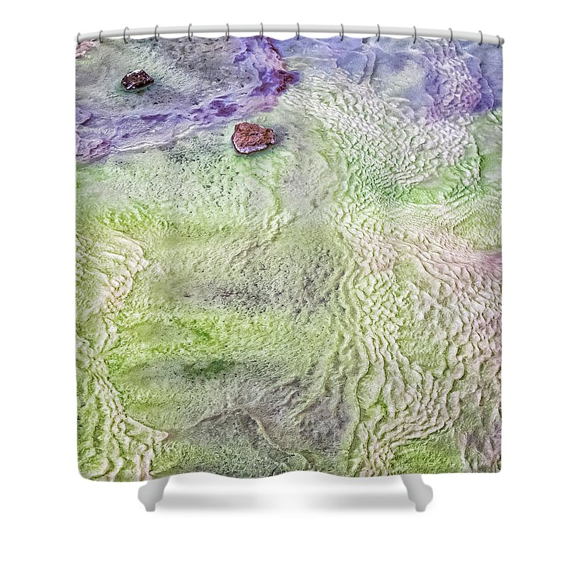 Iceland Shower Curtain featuring the photograph Earth Art 9497 by Karen Celella