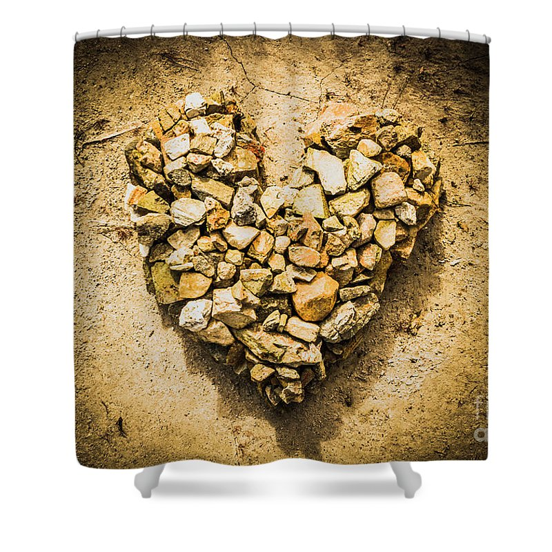 Heart Shower Curtain featuring the photograph Earthly Togetherness by Jorgo Photography - Wall Art Gallery