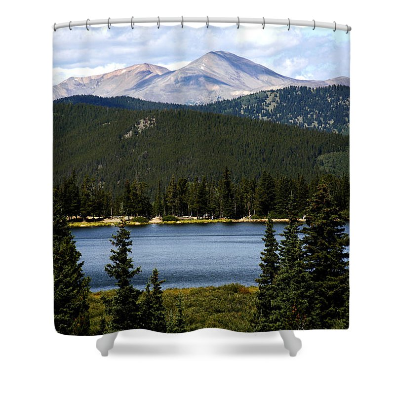 Colorado Shower Curtain featuring the photograph Echo Lake Colorado by Marilyn Hunt