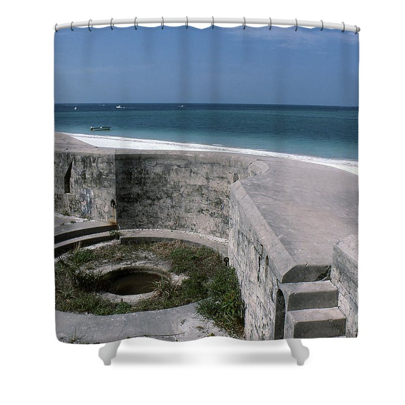 Beaches Shower Curtain featuring the photograph Egmont Key by Richard Rizzo