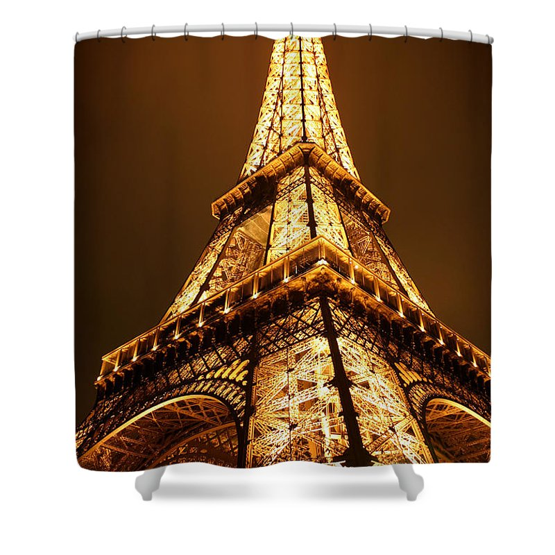 Eiffel Shower Curtain featuring the photograph Eiffel by Skip Hunt
