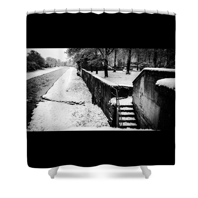 Stairs Shower Curtains