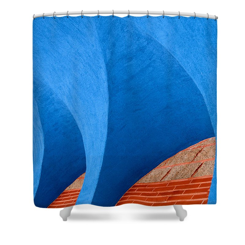 Photography Shower Curtain featuring the photograph Ekklisia by Paul Wear