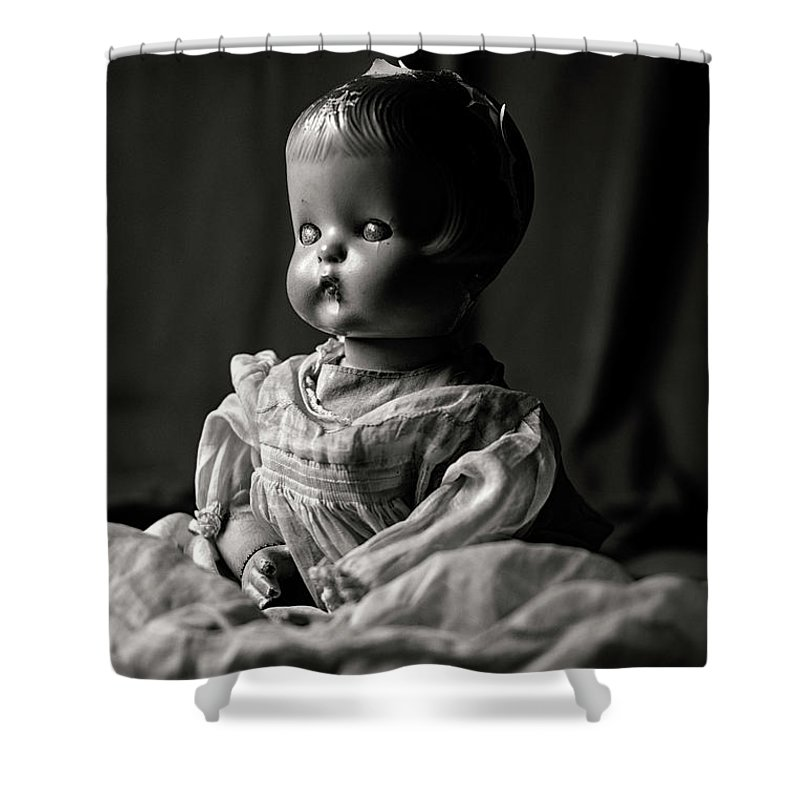 Doll Shower Curtain featuring the photograph Elegant by Cara Walton