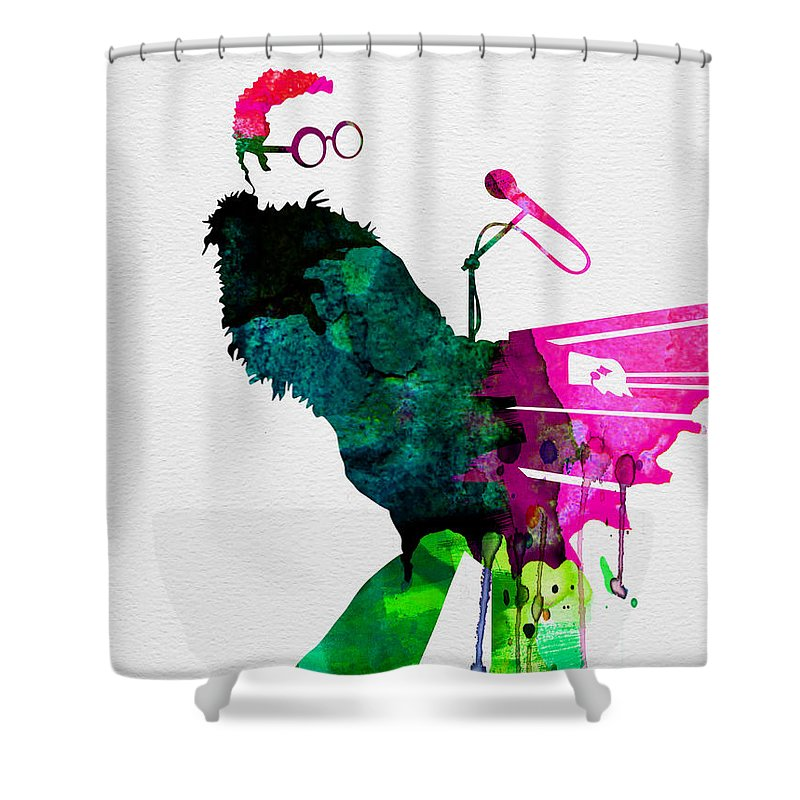 Elton John Shower Curtains