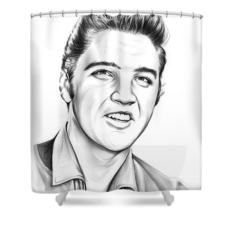 Elvis Shower Curtain For Sale By Greg Joens