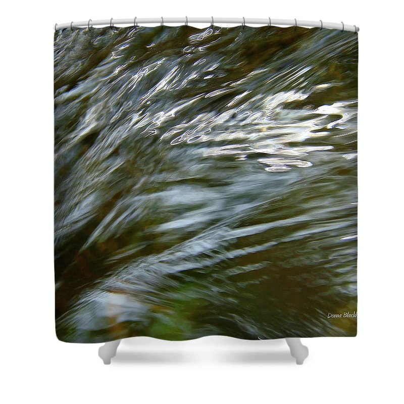 Water Shower Curtain featuring the photograph Emotional Journey by Donna Blackhall