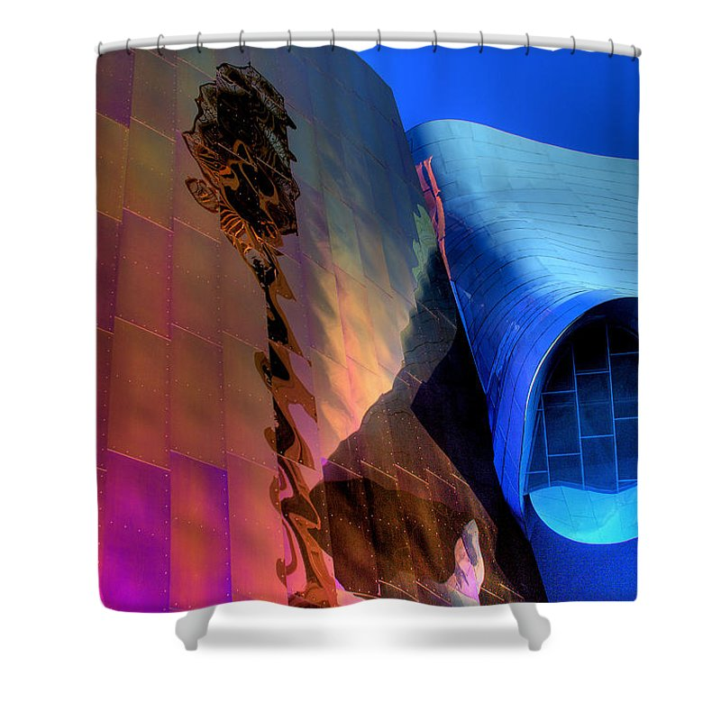 Emp Shower Curtain featuring the photograph EMP by David Patterson