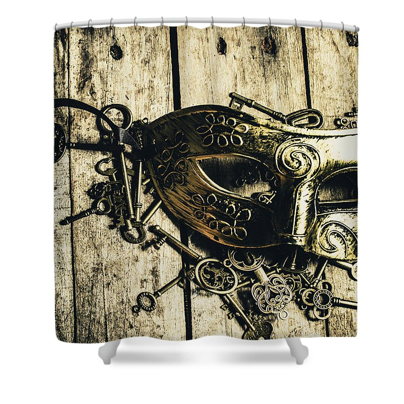 Emperor Shower Curtain featuring the photograph Emperors Keys by Jorgo Photography - Wall Art Gallery