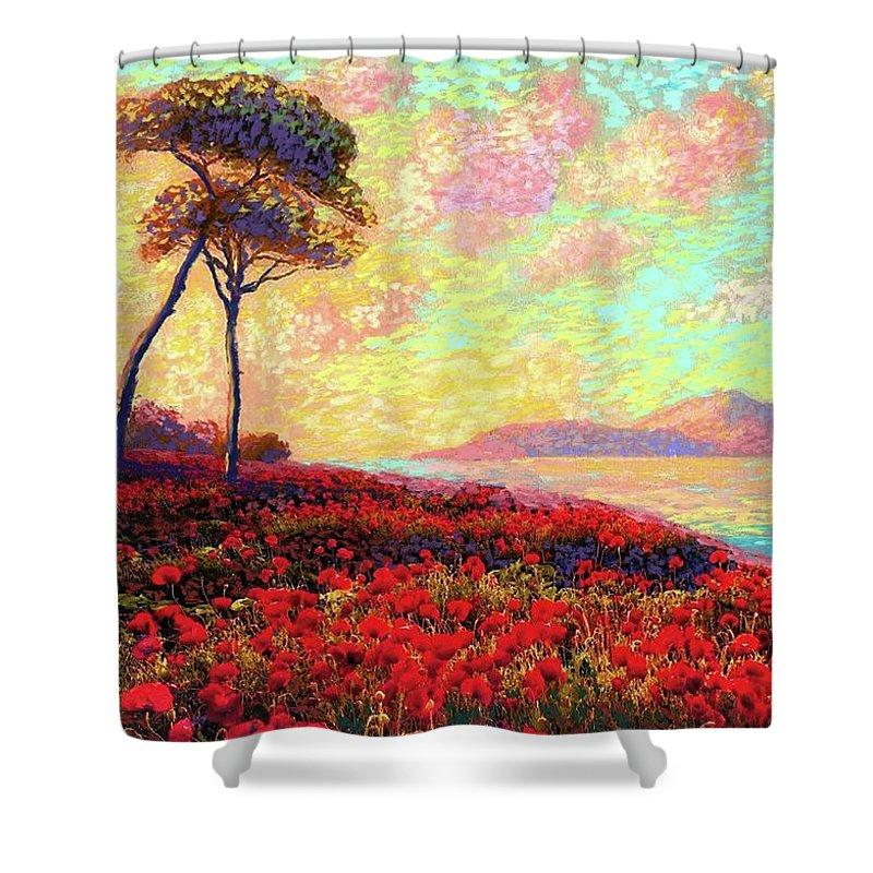 South Seas Shower Curtains