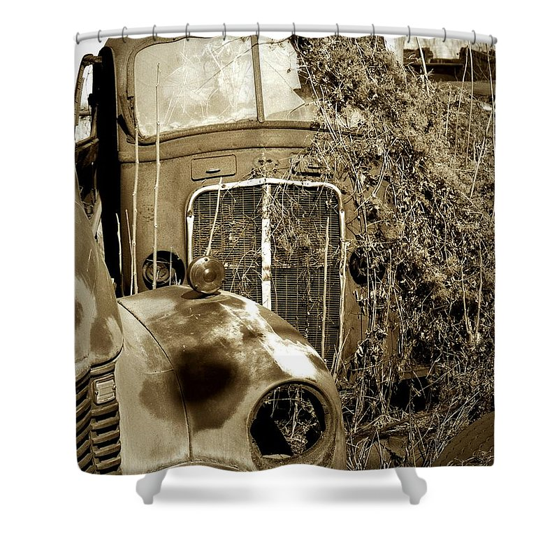 Pennsylvania Ave. Shower Curtain featuring the photograph Endings... by Arthur Miller