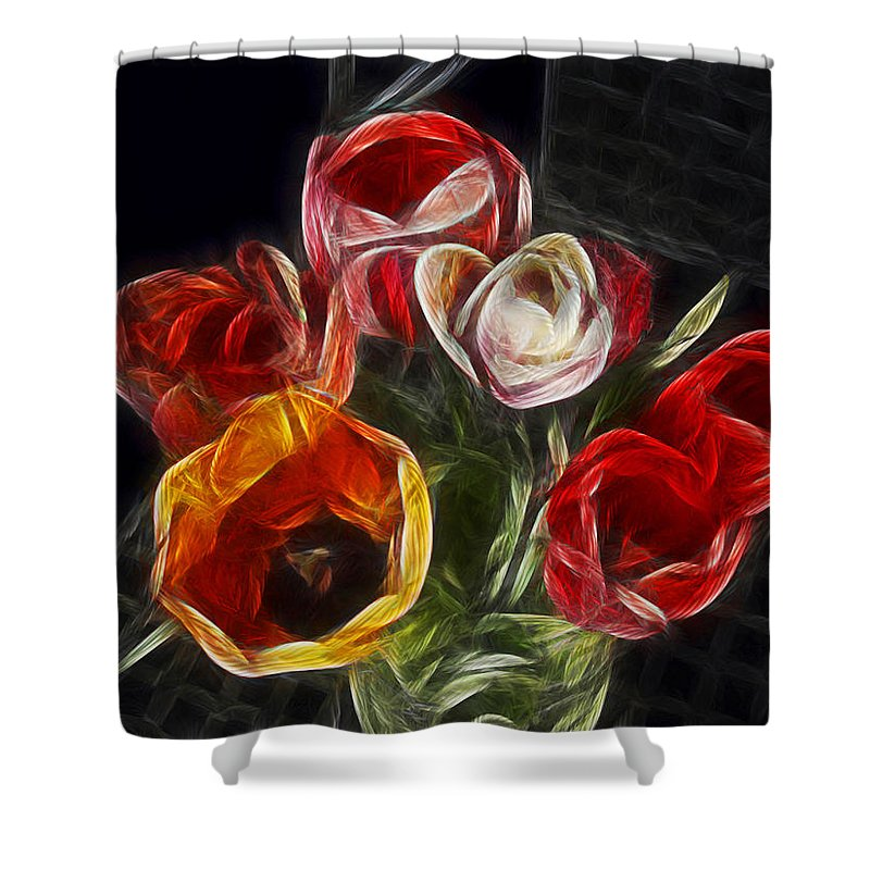 Tulip Shower Curtain featuring the photograph Energetic Tulips by Joachim G Pinkawa