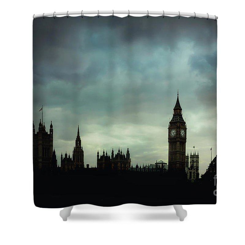 Kremsdorf Shower Curtain featuring the photograph England's Glory by Evelina Kremsdorf