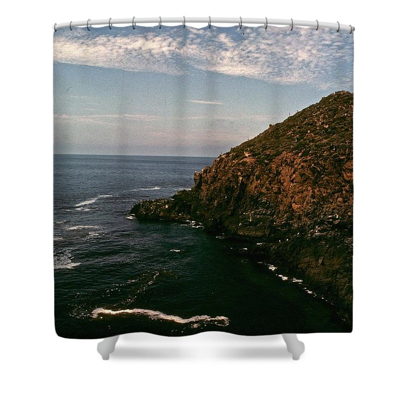 Mexico Shower Curtain featuring the photograph Ensenada Mexico by Gary Wonning