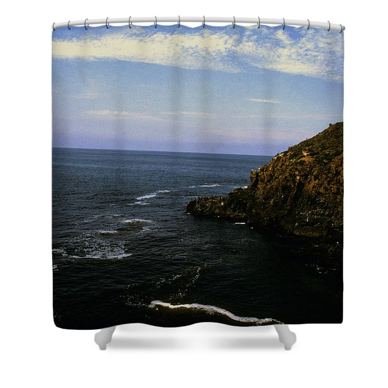 Mexico Shower Curtain featuring the photograph Ensendada Mexico by Gary Wonning