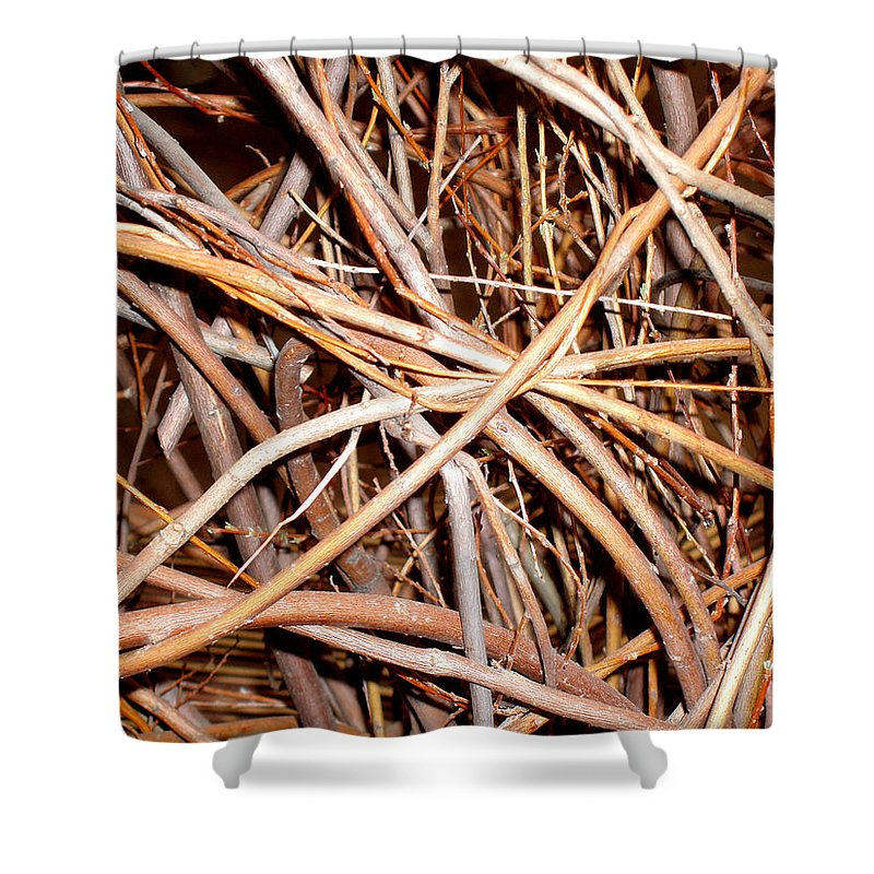 Vines Shower Curtain featuring the photograph Entangled by Wayne Potrafka