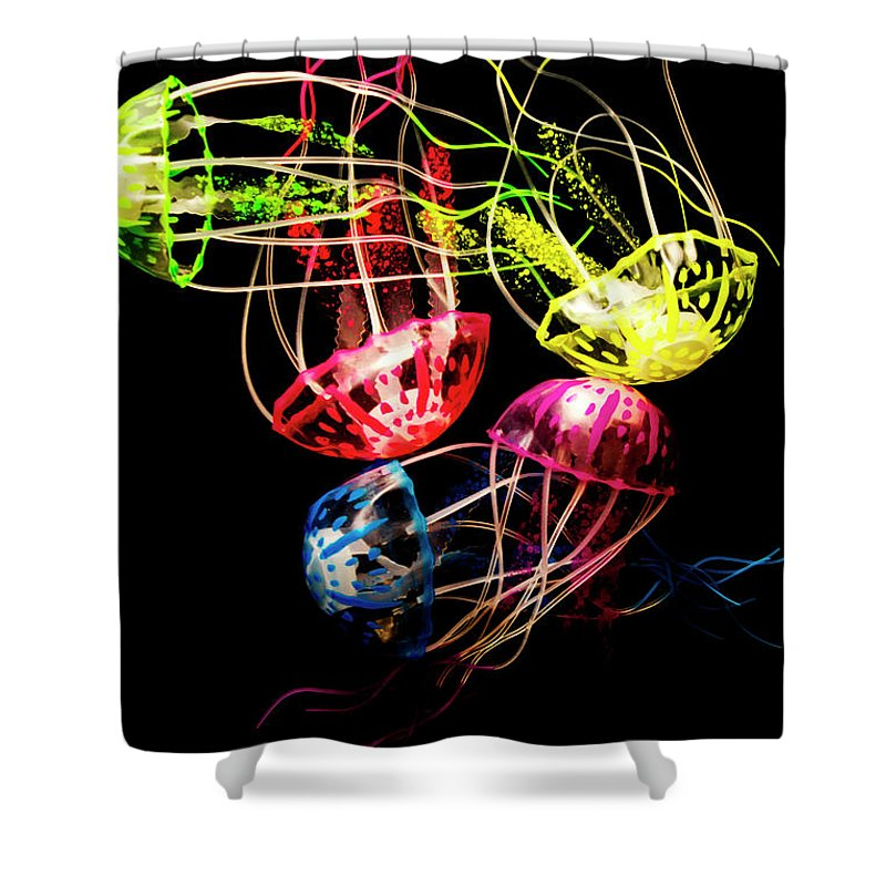 Ocean Shower Curtain featuring the photograph Entwined In Interconnectivity by Jorgo Photography - Wall Art Gallery