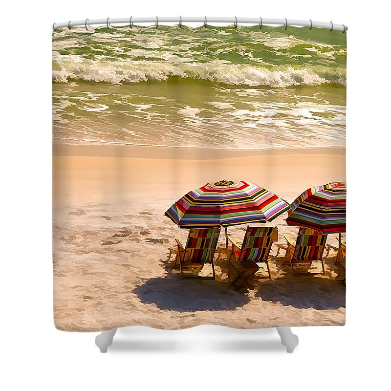 Alys Beach Shower Curtain featuring the photograph Escape by Janet Fikar