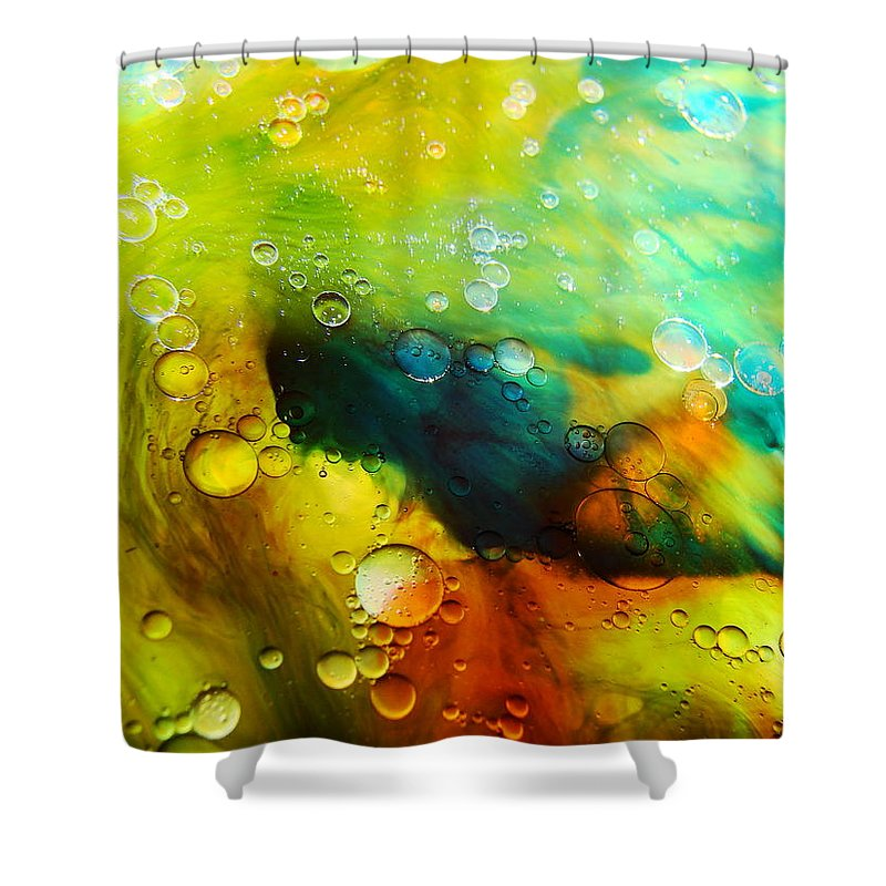 Abstract Shower Curtain featuring the photograph Escape by Nordan Nielsen
