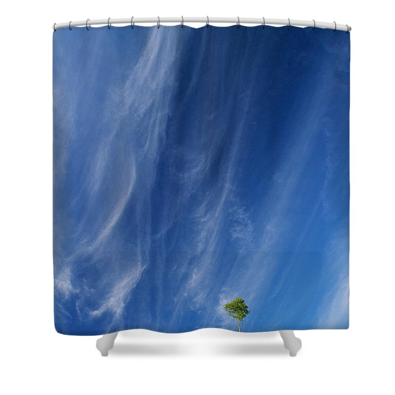 Lake Superior Shower Curtain featuring the photograph Essence Of One   by Doug Gibbons