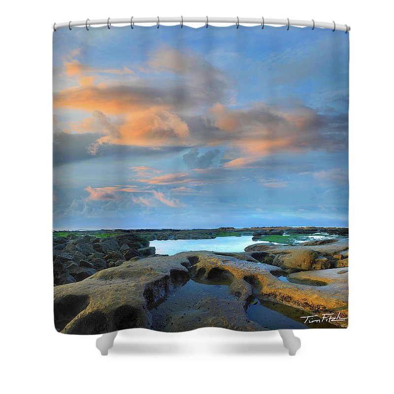 Beaches Shower Curtain featuring the photograph Eternal Soul by Tim Fitzharris