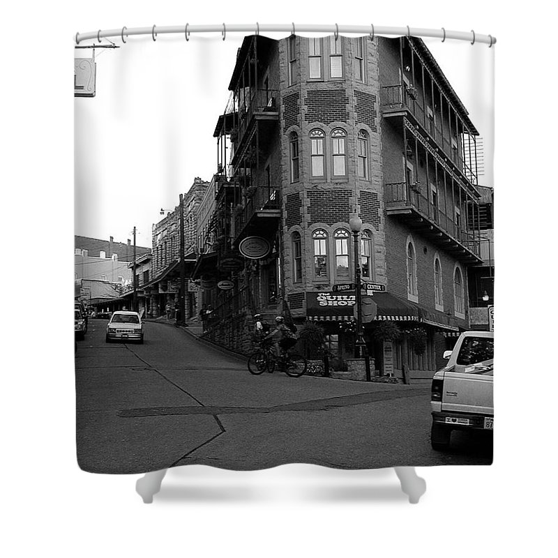 Eureka Springs Shower Curtain featuring the photograph Eureka Springs, Arkansas by Forrest Shaw