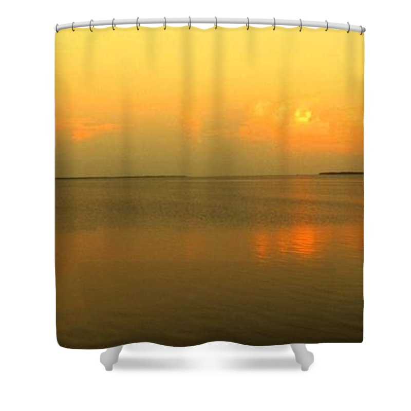 Florida Shower Curtain featuring the photograph Evening Shades by Ian MacDonald