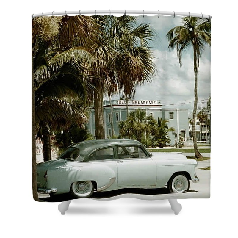 Everglade City Shower Curtain featuring the photograph Everglade City I by Flavia Westerwelle
