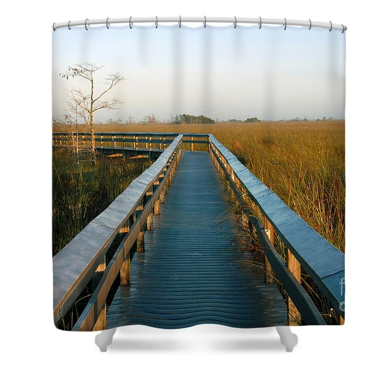 Everglades National Park Florida Shower Curtain featuring the photograph Everglades National Park by David Lee Thompson