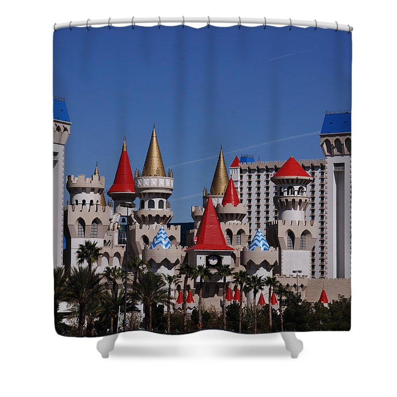 Excalibur Shower Curtain featuring the photograph Excalibur by Susanne Van Hulst