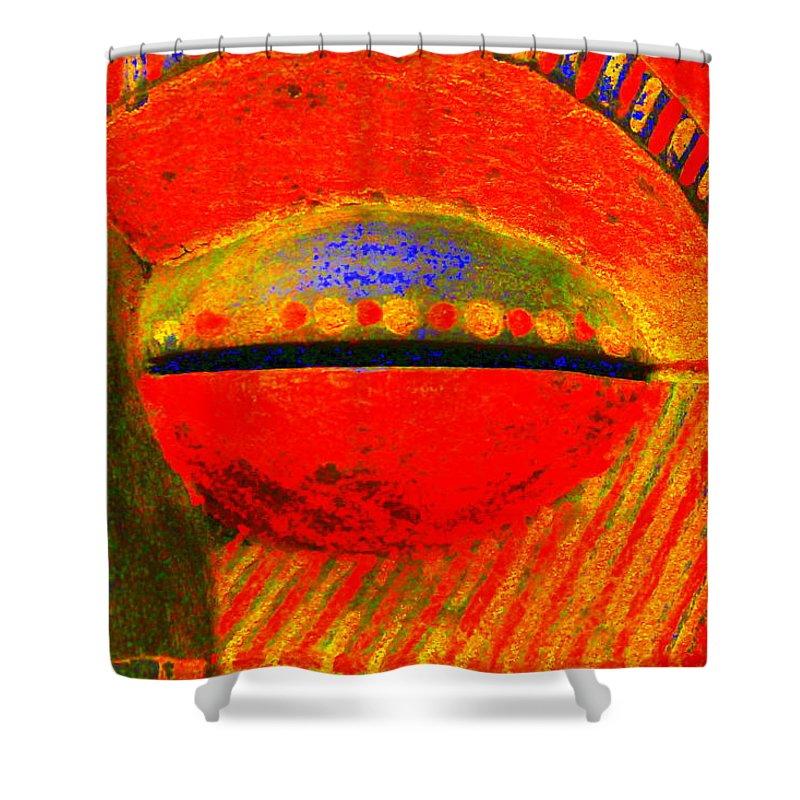 Icu Shower Curtain featuring the photograph Eye C U by Edward Smith