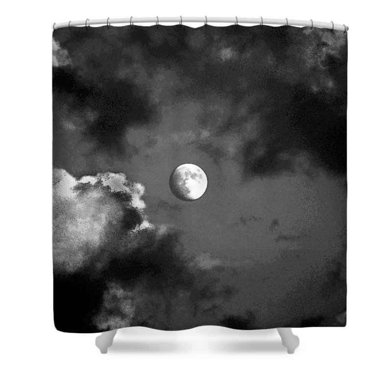 Sky Shower Curtain featuring the photograph Eye In The Sky by Steve Karol