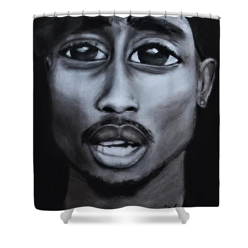 Eyez Of Tupac Shower Curtain For Sale By Bianca Walker