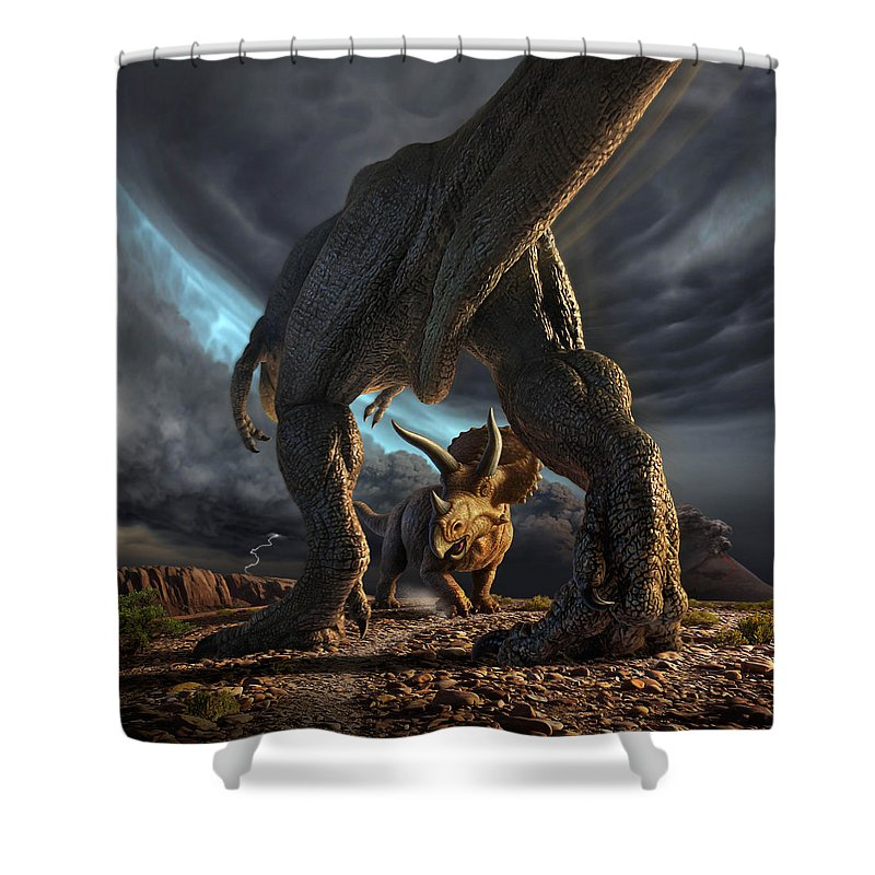 Dinosaur Shower Curtains