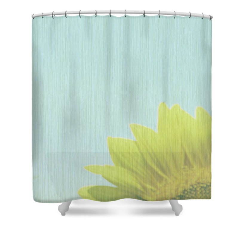 Sunflowers Shower Curtain featuring the photograph Faded by Amanda Barcon