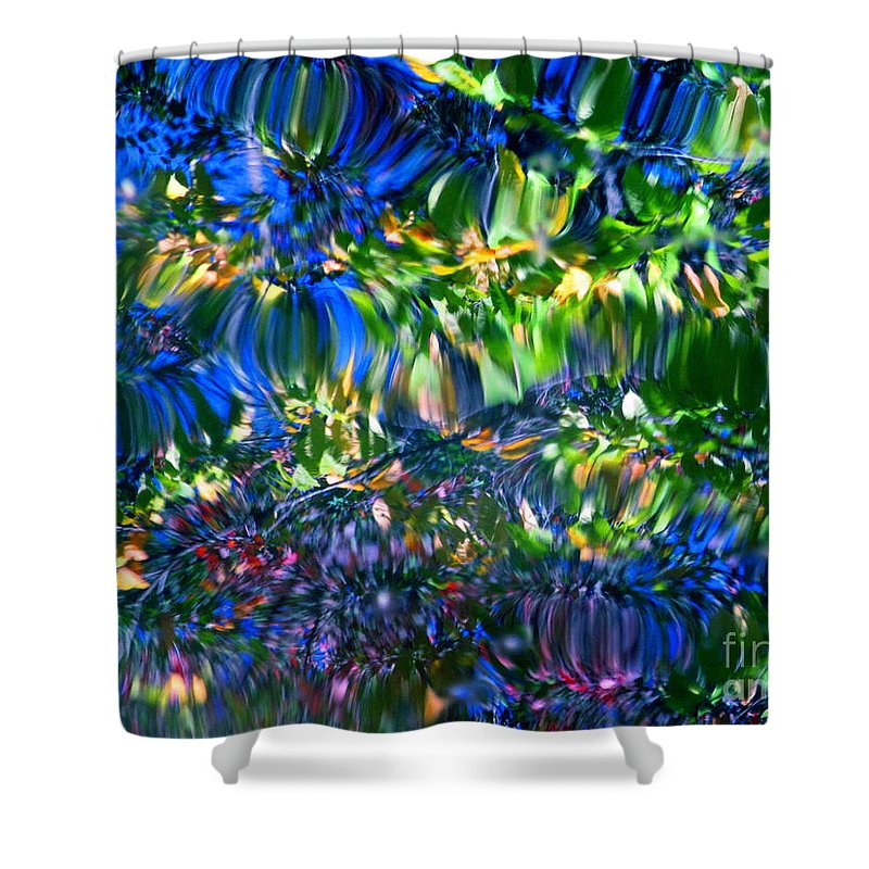 Water Shower Curtain featuring the photograph Faerie Frenzy by Sybil Staples