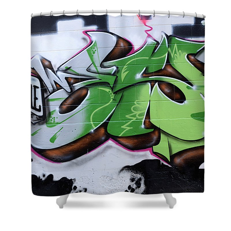 Graffiti Shower Curtain featuring the photograph Fairstyle by Bob Christopher