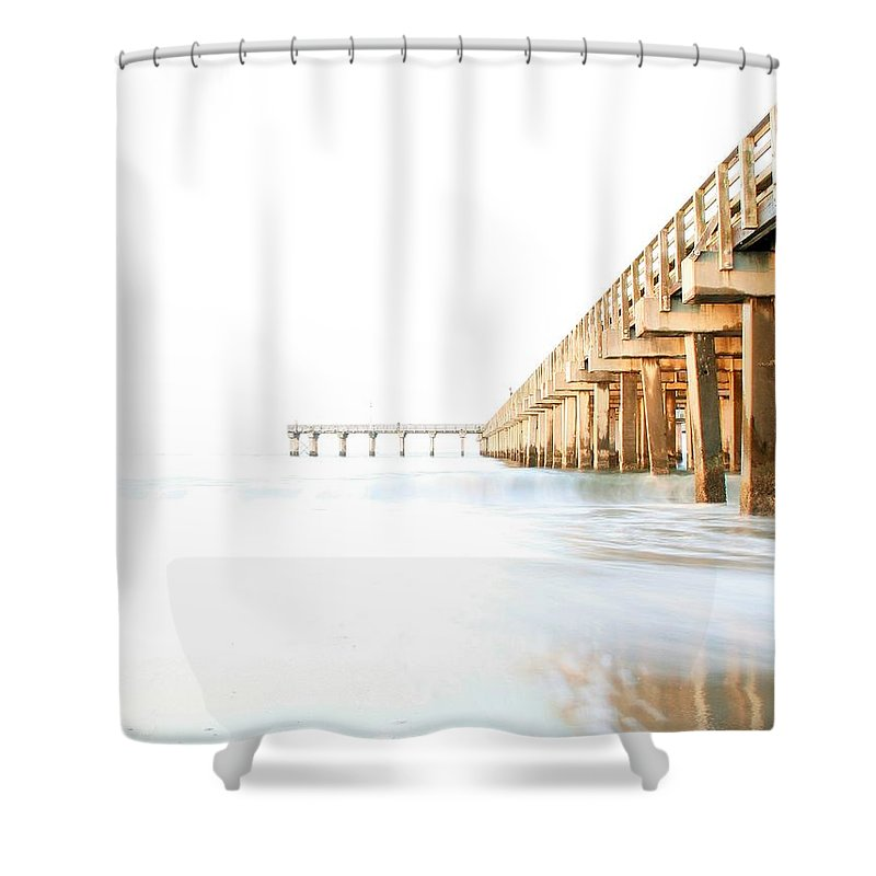 High Key Shower Curtain featuring the photograph Faith by Mitch Cat