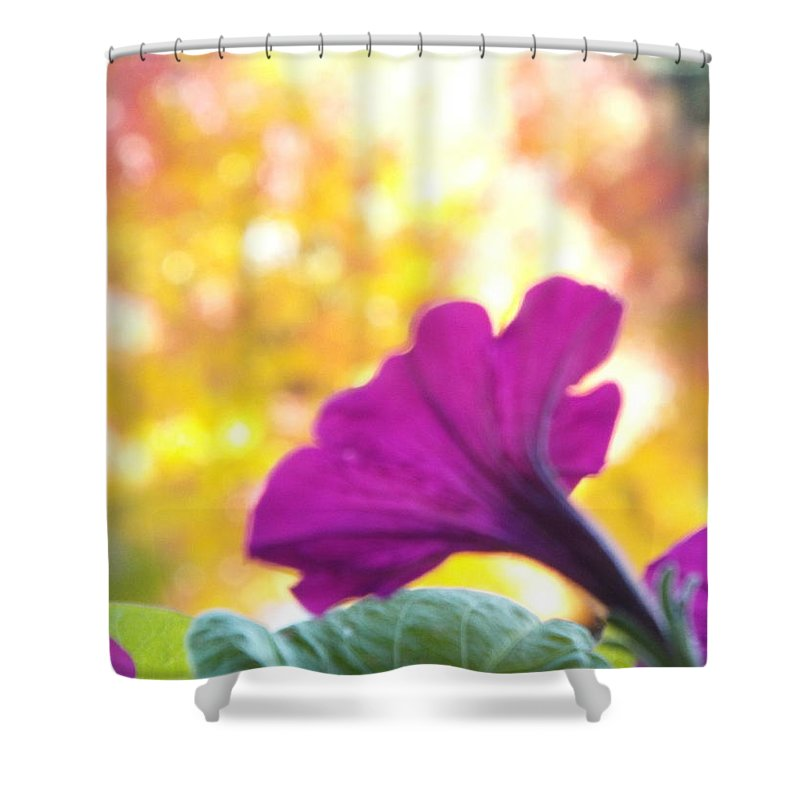 Photograph Shower Curtain featuring the photograph Fall Color 1 by Gilbert Pennison
