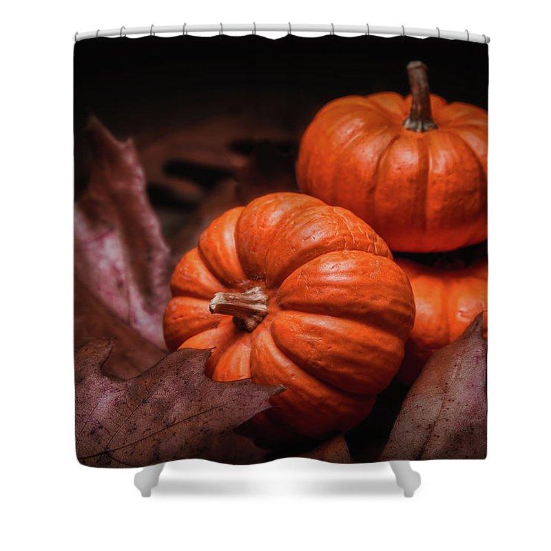 Autumn Shower Curtain featuring the photograph Fall Fruits by Tom Mc Nemar