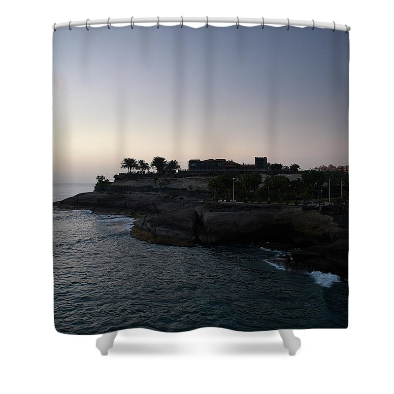 Fanabe Shower Curtain featuring the photograph Fanabe Evening 3 by Jouko Lehto