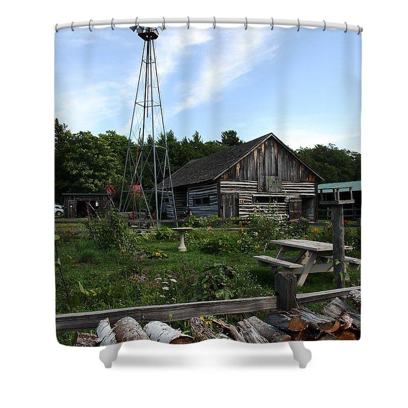 Farm Life Shower Curtain featuring the photograph Farm Life by Joanne Coyle