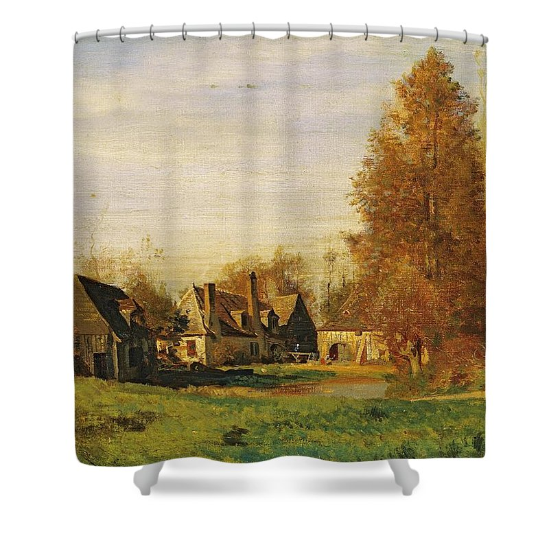 Campagne Paintings Shower Curtains