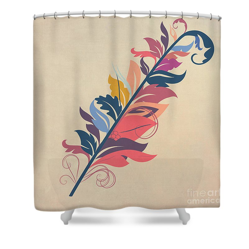 Feather Shower Curtain For Sale By John Edwards