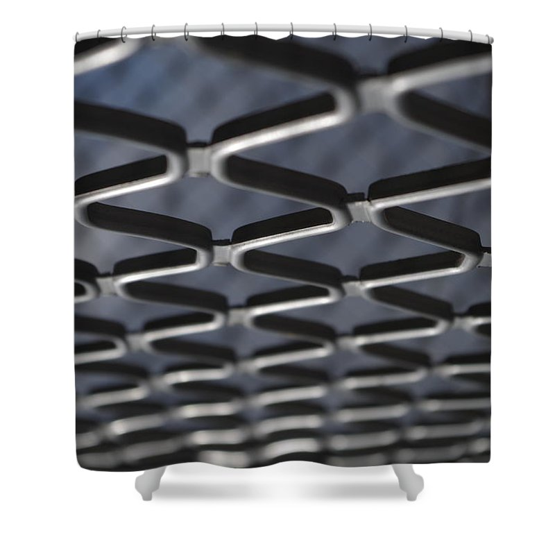 Architecture Shower Curtain featuring the photograph Fence by Satish Kumar