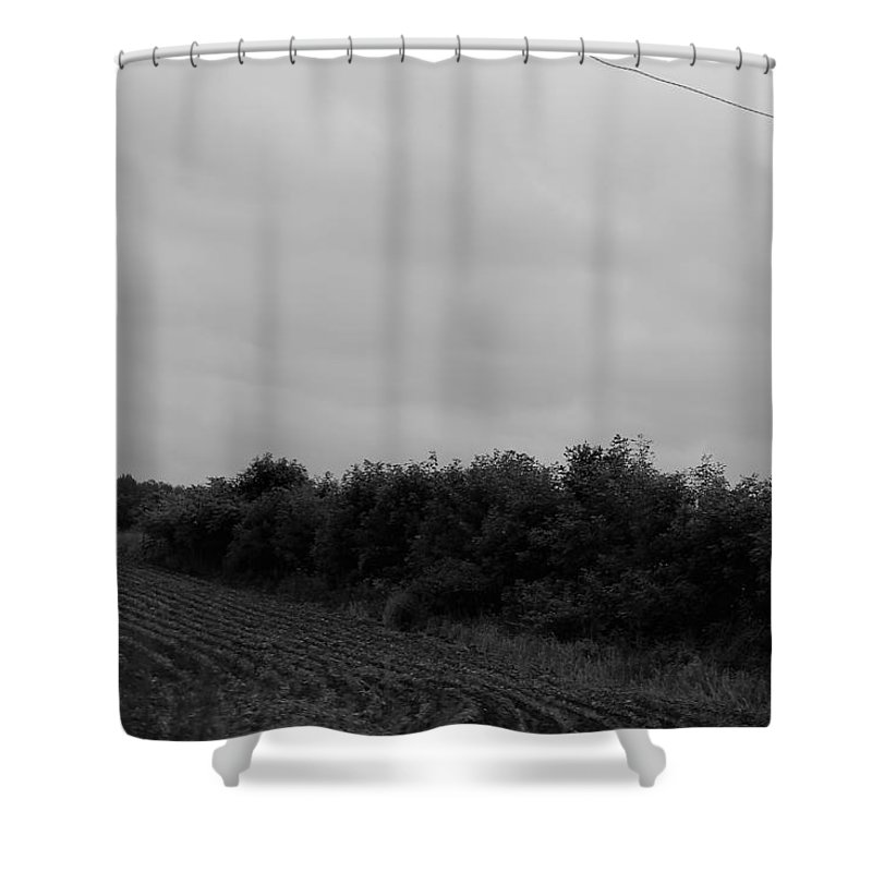 Shower Curtain featuring the photograph Field 2 by John Bichler