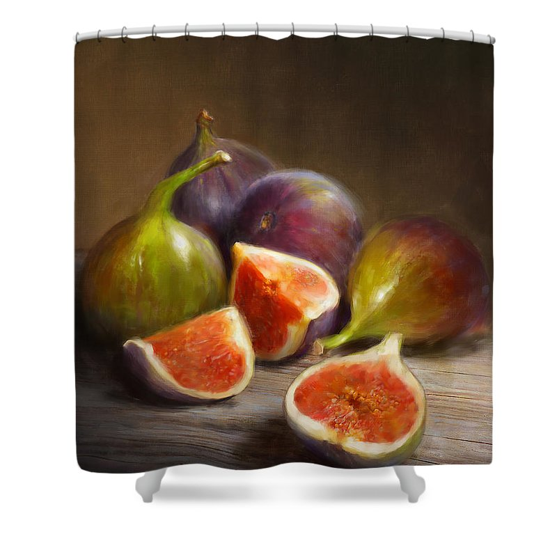 Still Life Shower Curtains