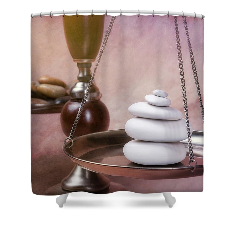 Harmony Shower Curtain featuring the photograph Find Your Balance by Tom Mc Nemar